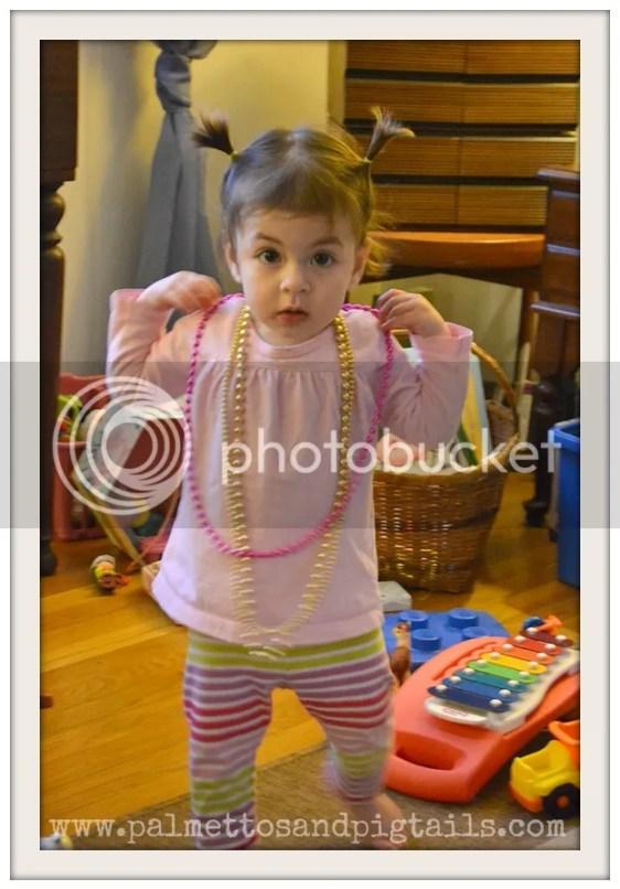 Mardi Gras Beads Dress Up