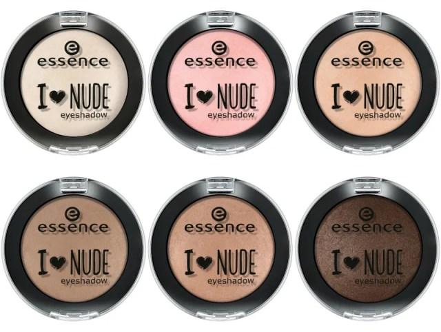 Essence I Heart Nude Eyeshadow