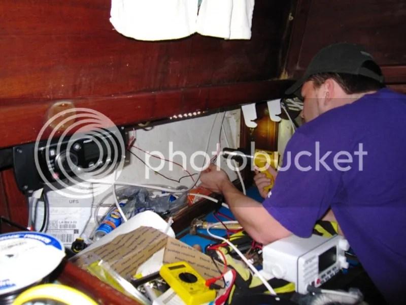 Installing the VHF Radio