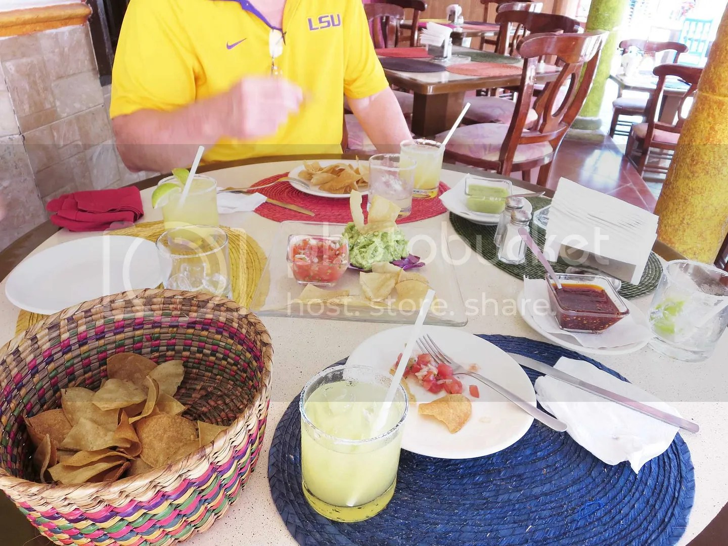 Isla Mujeres Food in town