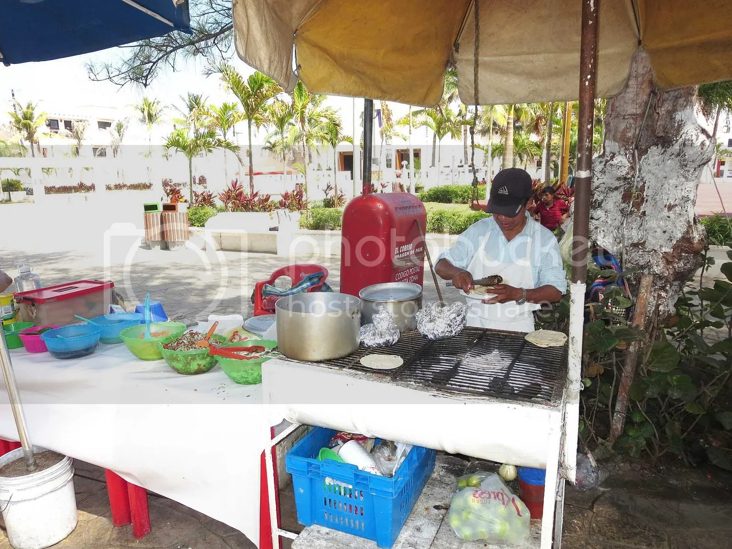 Street Food on Isla Mujeres