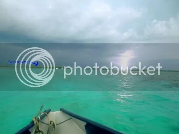 Sundowner in Lightning