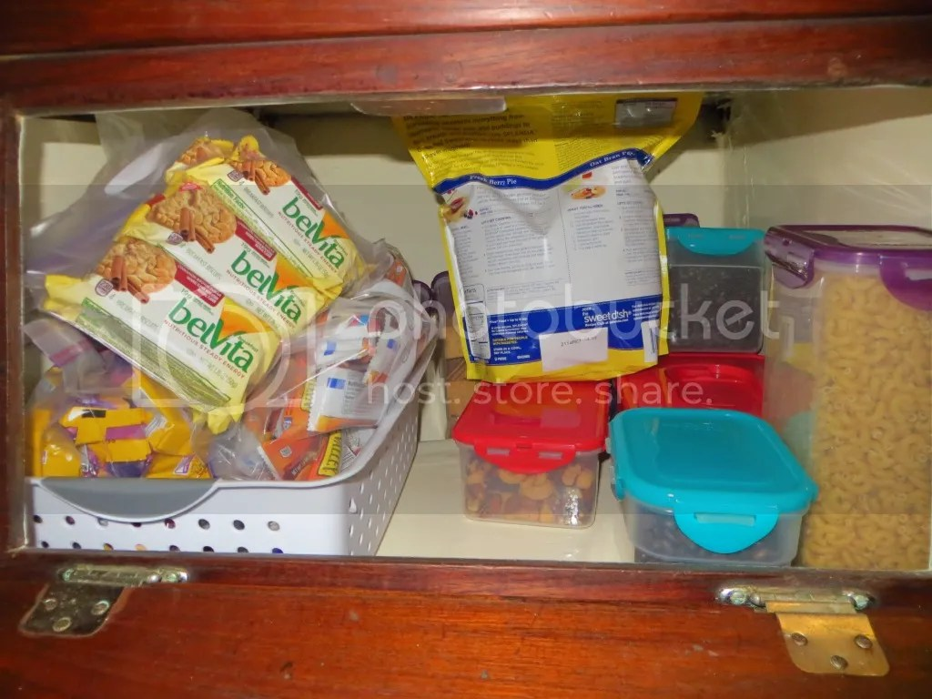 Food in Cabinets