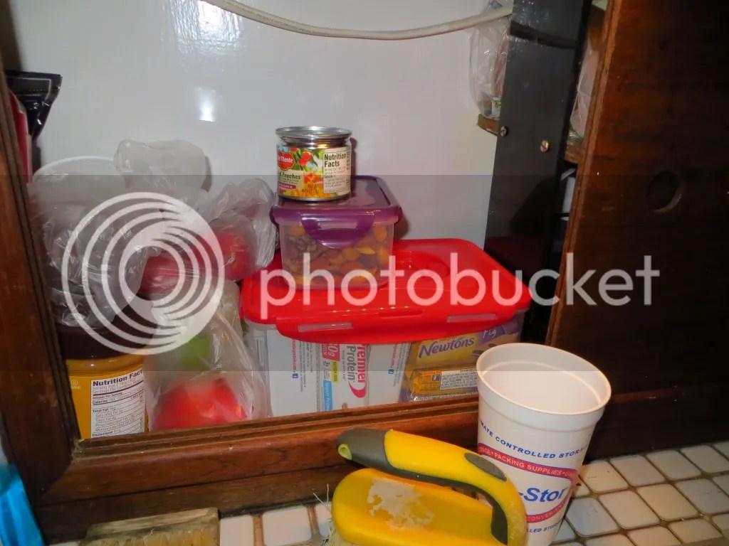 Food in Tupperware