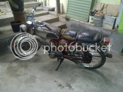 Motor Yamaha L2G 1977