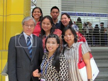 Mr. John Chang, Me, Ms. Espie, Ms. Mude, Ms. Riza, Ms. Vlad, Mr. Schneider