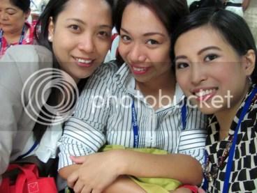Ms. Mau, Ms. Jini, and I at the PPhA ID Area