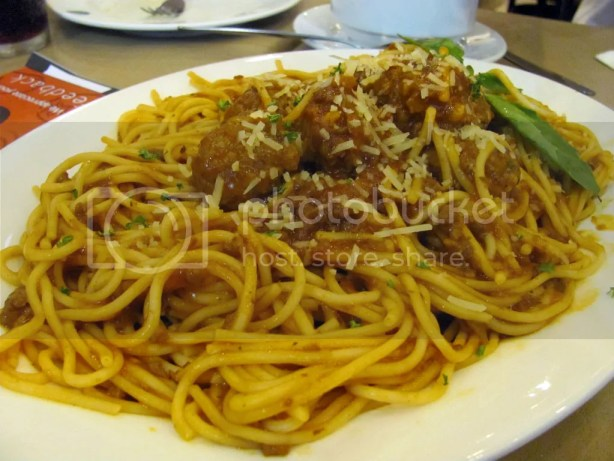 This Spaghetti Bolognese tastes so much better than the one in the Super Panalo meals.