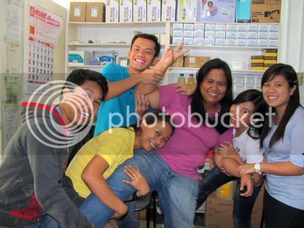 Wacky Shot AGAIN with Libertad Bacolod Trainees
