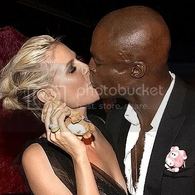Heidi Klum & Seal Pictures, Images and Photos
