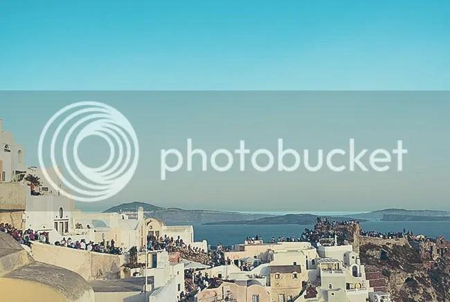 Saint Nicholas astle, Oia, Santorini