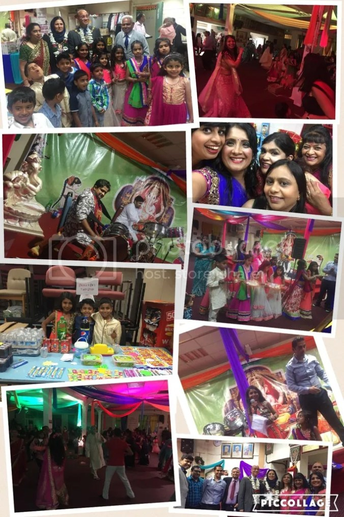Garba Photo Collage