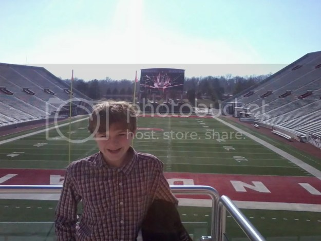 Aiden at The Rock at Indiana University