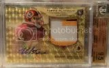 2012 Topps Platinum Robert Griffin III 1/1