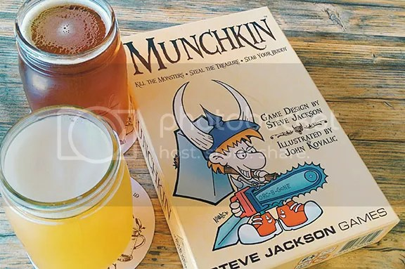 Beer and Munchkin