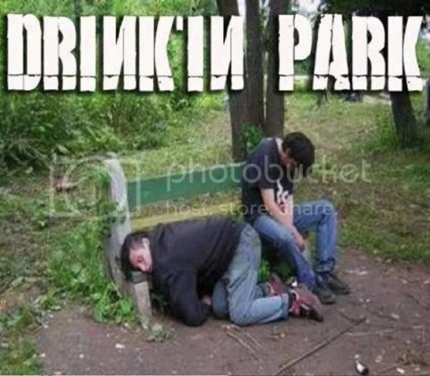 Drink in park