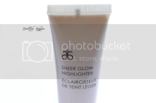 Arbonne Sheer Glow Highlighter Review