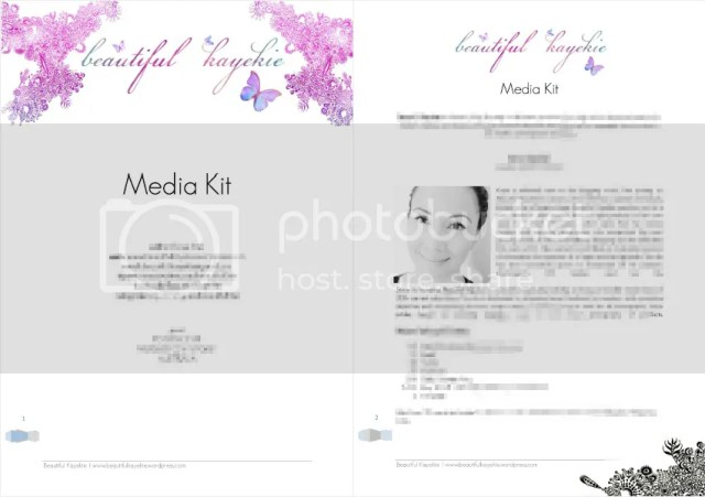 Beautiful Kayekie Media Kit