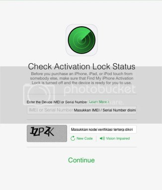 activation lock status