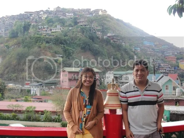 Visitor to Bell Church Baguio City