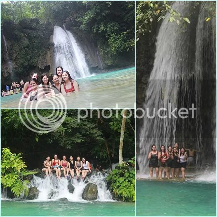 Kawasan waterfalls system