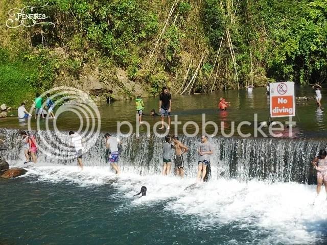 Man made waterfall Dalitiwan Majayjay
