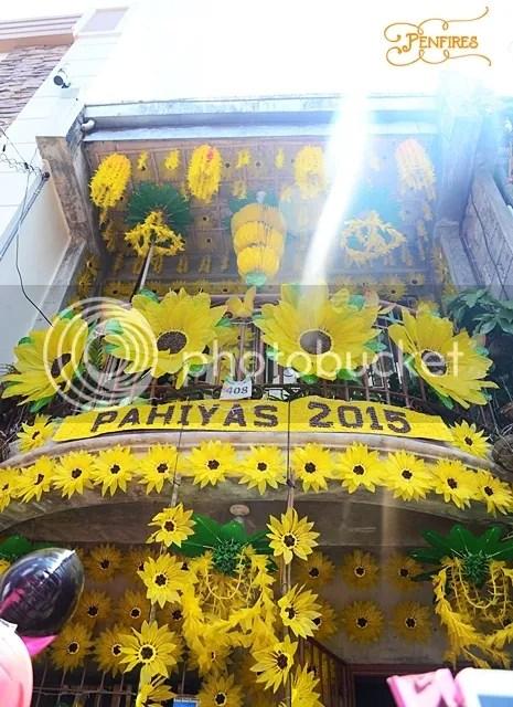 Sunflower Yellow House Pahiyas Festival