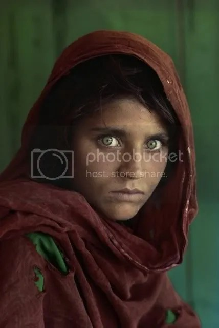 Steve McCurry Portrait