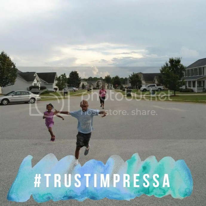 Racing With My Children (I let them win!) #TrustImpress (sponsored)