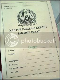 Map Kuning Kantor Imigrasi Jakarta Pusat