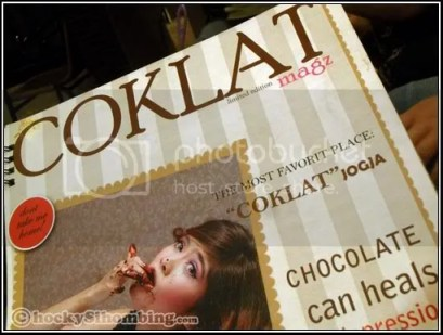 coklat cafeshop menu