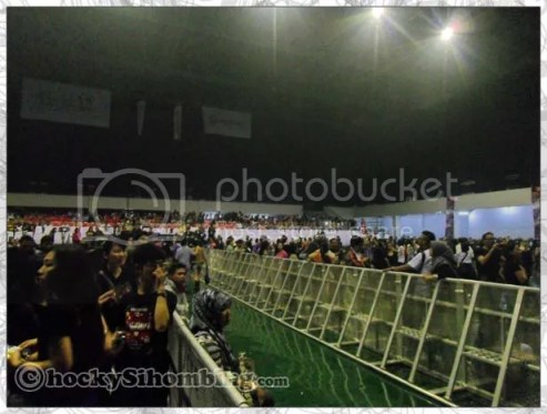 Inside of Mata Elang International Stadium, Ancol