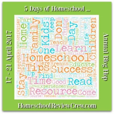 5 Days of Homeschool Annual Blog Hop - 2017