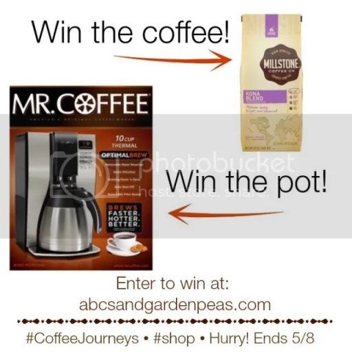 Win with Mr. Coffee® and Millstone®! #CoffeeJourneys #shop