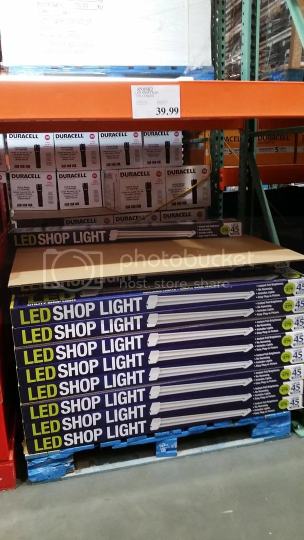 Howling Yes Y Were Spendy At Per Fixture But Output Costco Seattle On Ave South Has A Pallet Feit Electric Led Fixtures At Costco Journal Board Cer Temps Isvery Noticeable houzz 01 Led Shop Lights Costco