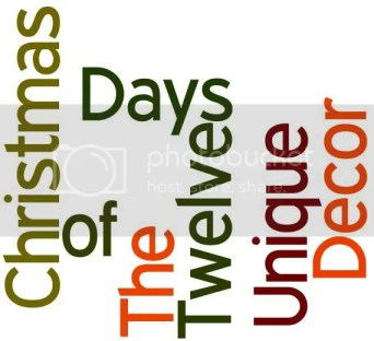 Twelve days of christmas decor