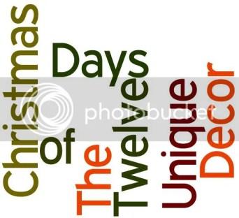 Twelve days of christmas decor