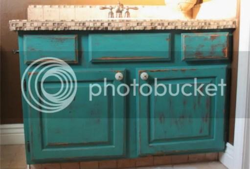 refinish oak cabinets
