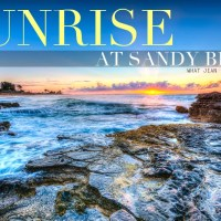 Sunrise at Sandy Beach: A Guest Post