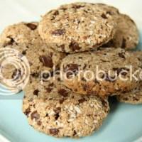#foodblogswap - Gezonde Chocolate Chip Cookies