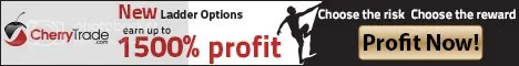CherryTrade newly offered ladder options trading starting early 2016