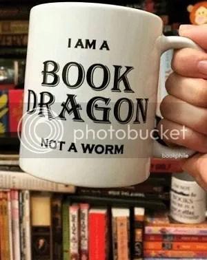 book dragon mug from bookphile of tumblr image