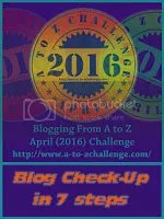 Blog Check-up in 7 steps by @JLenniDorner at the #AtoZChallenge April 2016- image