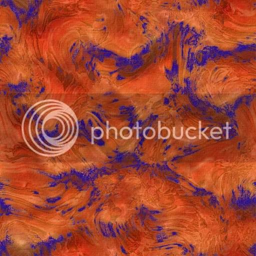 orange blue pattern by @JLenniDorner