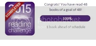 reading challenge done