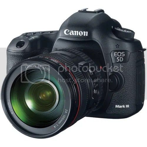 Canon EOS 5D Mark III Price Tumbles Down Even More