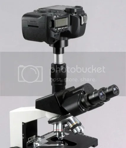 Microscope Camera Adapter For Canon EOS SLR/DSLR