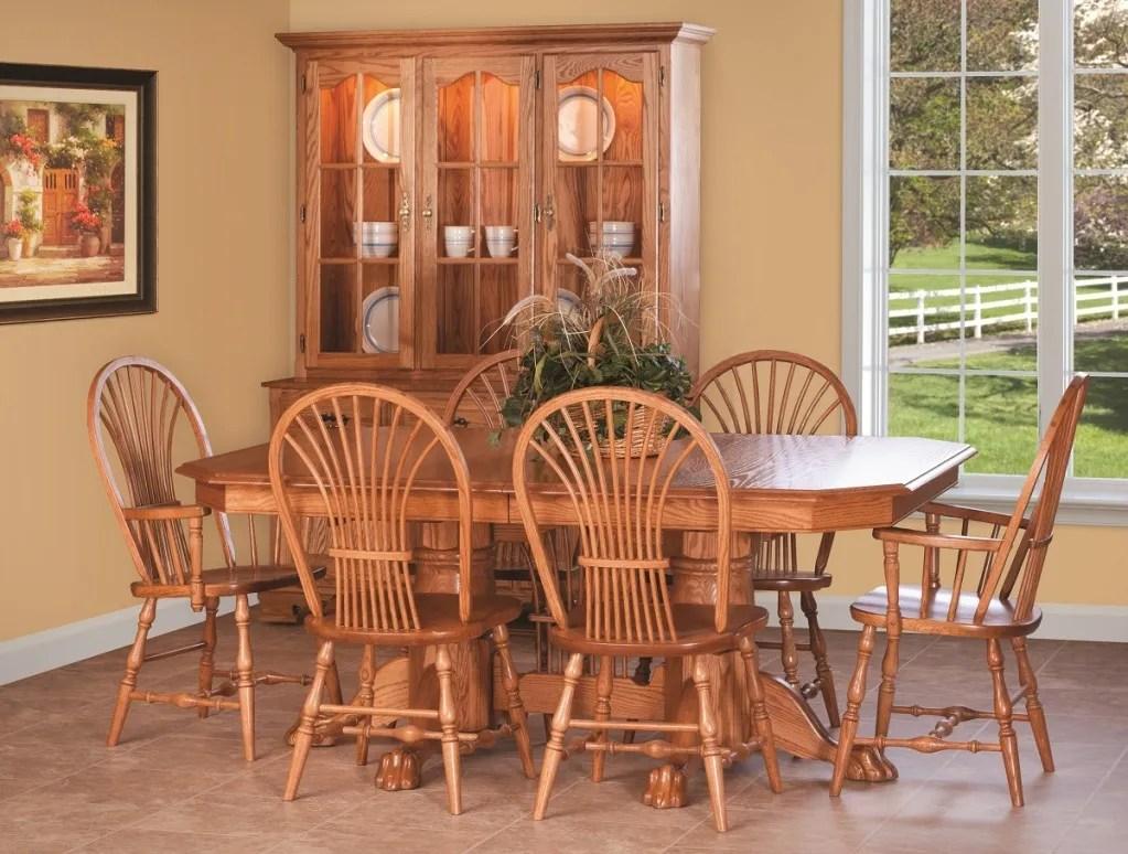 oak kitchen chairs Shown in Oak w light cherry stain