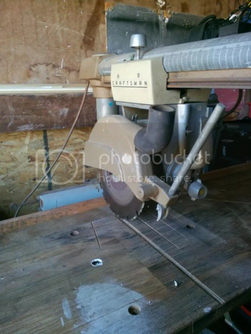 Medium Of Craftsman Radial Arm Saw Recall