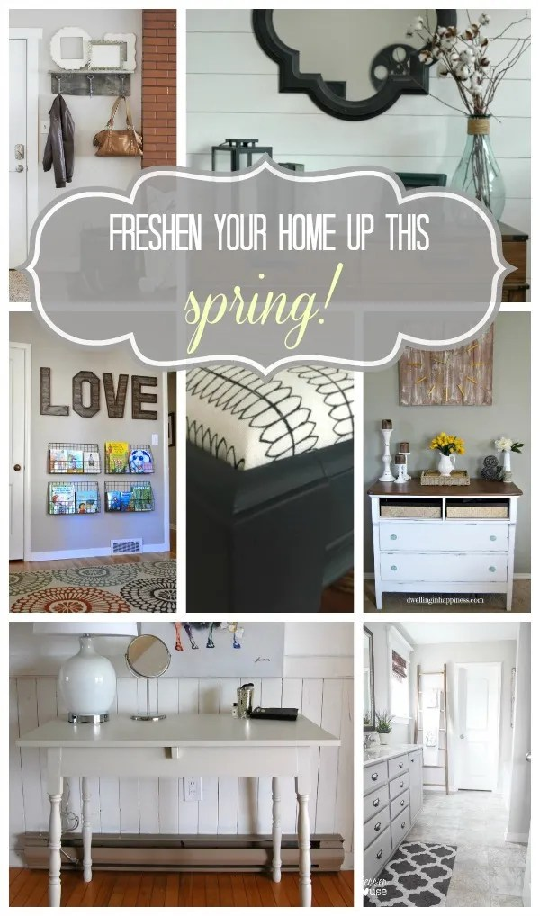 Freshen Your Home Up For Spring!